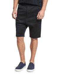 Vince Drop Rise Shorts Black