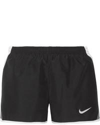 Nike Dry Tempo Mesh Trimmed Shell Shorts Black
