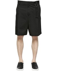 Givenchy Cotton Canvas Bermuda Shorts