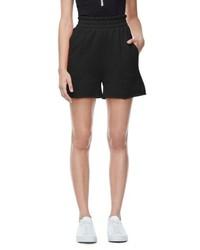 Good American Good Sweats The High Waist Shorts