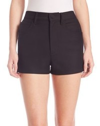 Helmut Lang High Rise Denim Shorts