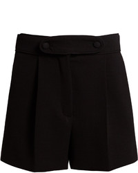 Valentino High Waist Tailored Shorts