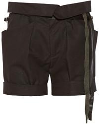 Isabel Marant Devi Cotton Blend Shorts