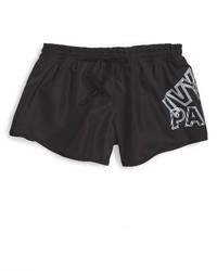 Ivy Park Reflective Broken Logo Runner Shorts