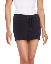 James Perse Slub Pique Cotton Shorts