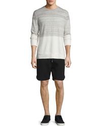 Helmut Lang Jersey Running Shorts Black