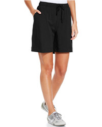 Karen Scott Sport Pull On Knit Shorts