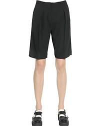 Karl Lagerfeld Heavy Techno Crepe Shorts