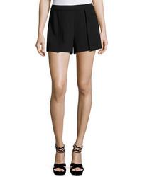 Alice + Olivia Larissa Single Pleat Shorts