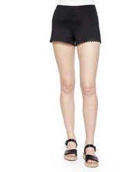 Clover Canyon Laser Cut Short Shorts