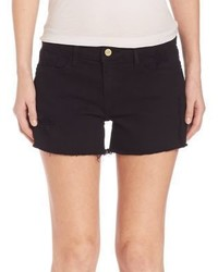 Frame Le Cut Off Relaxed Shorts