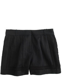 J.Crew Linen Lace Trim Short