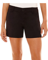 Liz Claiborne Stretch Twill Shorts