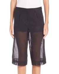 Maison Margiela Cotton Organza Shorts
