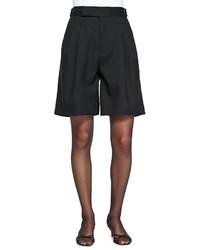 Marc Jacobs High Waist Pleated Wide Leg Shorts