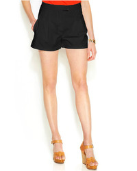 MICHAEL Michael Kors Michl Michl Kors High Waist Pleat Front Shorts