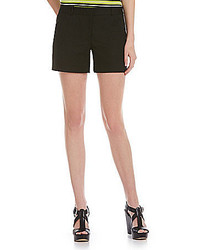 MICHAEL Michael Kors Michl Michl Kors Stretch Cotton Doubleface Flat Front Shorts