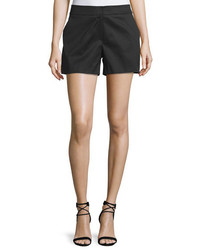 Monse Stretch Cotton Shorts Black