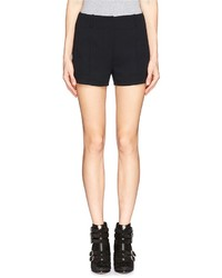 Nobrand Pintucked Front High Waist Shorts
