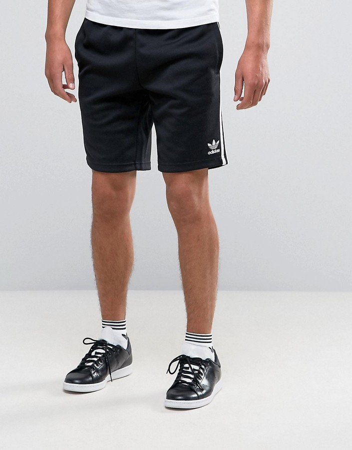 online store 9bde3 edee6 ... adidas Originals Superstar Shorts In Black Aj6942 ...