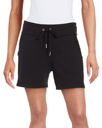 Calvin Klein Performance Lace Trimmed Cotton Shorts