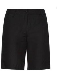 Piamita Elliot Silk And Linen Blend Shorts