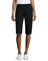 Eileen Fisher Poplin Solid Shorts