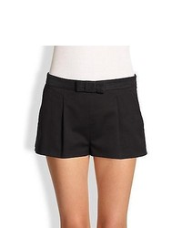 RED Valentino Tuxedo Shorts Black