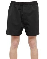 Rick Owens Cotton Canvas Shorts