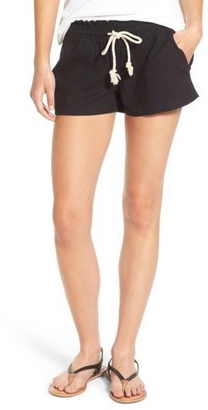 Roxy Oceanside Linen Blend Shorts