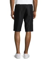 Helmut Lang Scuba Mesh Sweat Shorts Black