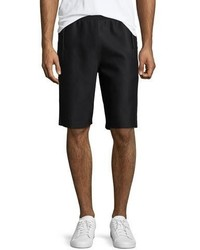 Helmut Lang Scuba Mesh Sweat Shorts Black