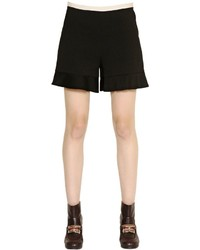 See by Chloe Techno Crepe Shorts