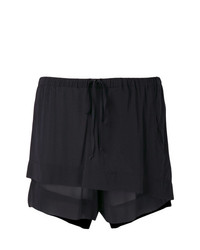 Lost & Found Ria Dunn Sheer Layered Front Shorts