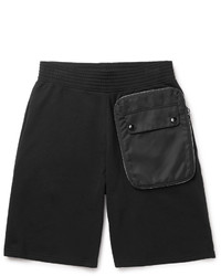Givenchy Shell Trimmed Cotton Jersey Shorts