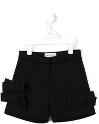 Simonetta Bow Appliqu Shorts