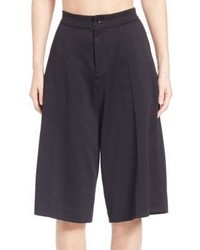Y-3 Solid Wide Leg Shorts
