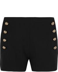 Chloé Stretch Wool Gabardine Shorts