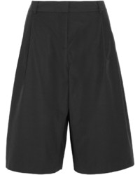 Alexander Wang T By Pleated Cotton Blend Culottes