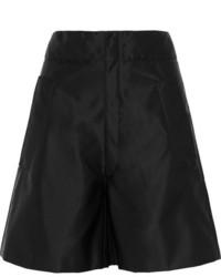 Miu Miu Taffeta Shorts Black