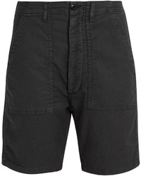 The Great The Army Low Slung Woven Shorts