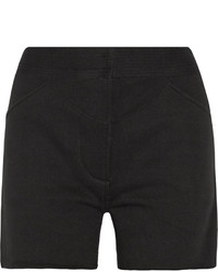 Etoile Isabel Marant Toile Isabel Marant Kenny Cotton Blend Fleece Shorts