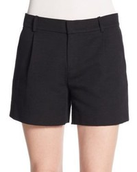Vince Ottoman Cotton Blend Shorts