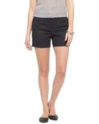 WD.NY Wdny Black Linen Short
