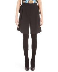 Givenchy Wool Bermuda Cavalry Shorts