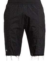 Vetements X Reebok Slim Leg Raw Edge Track Shorts