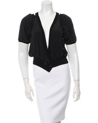 Thakoon Short Sleeve Silk Shrug W Tags