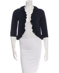 Diane von Furstenberg Wool Ruffle Shrug