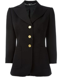 Alexander McQueen Three Button Blazer
