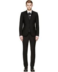 Calvin Klein Collection Black Shawl Collar Tuxedo Blazer